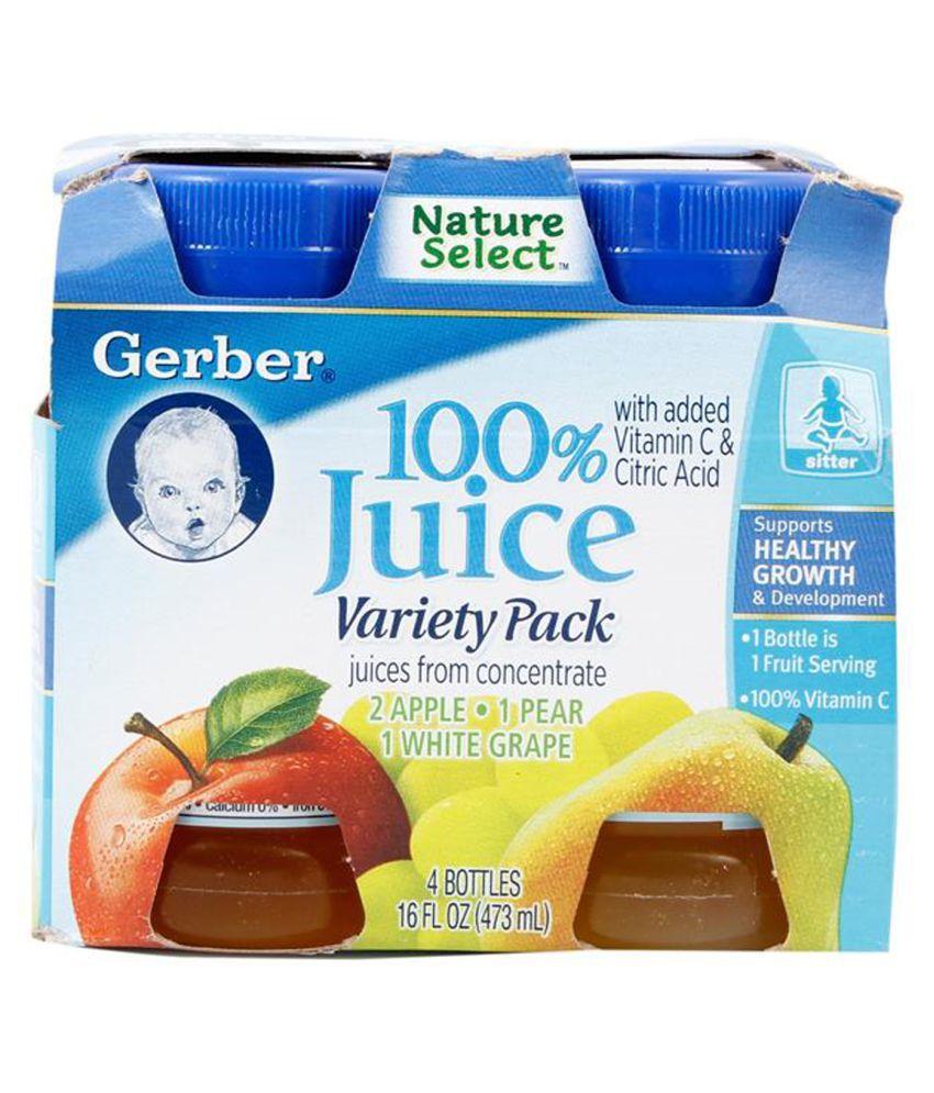 Gerber Variety Pack Snack Foods for Under 6 Months ( 473 gm )