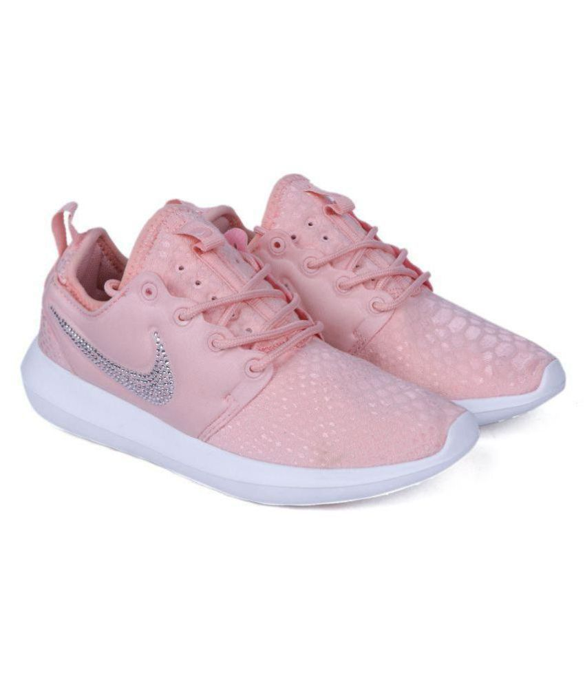 quality design 6c086 9bef1 Nike Roshe run for womens Pink Casual Shoes