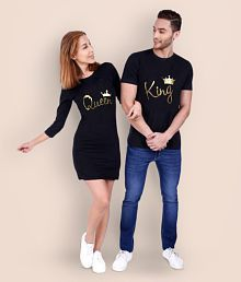 5676ee63 Couple T Shirts - Buy T Shirts for Couples Online at Low Prices ...