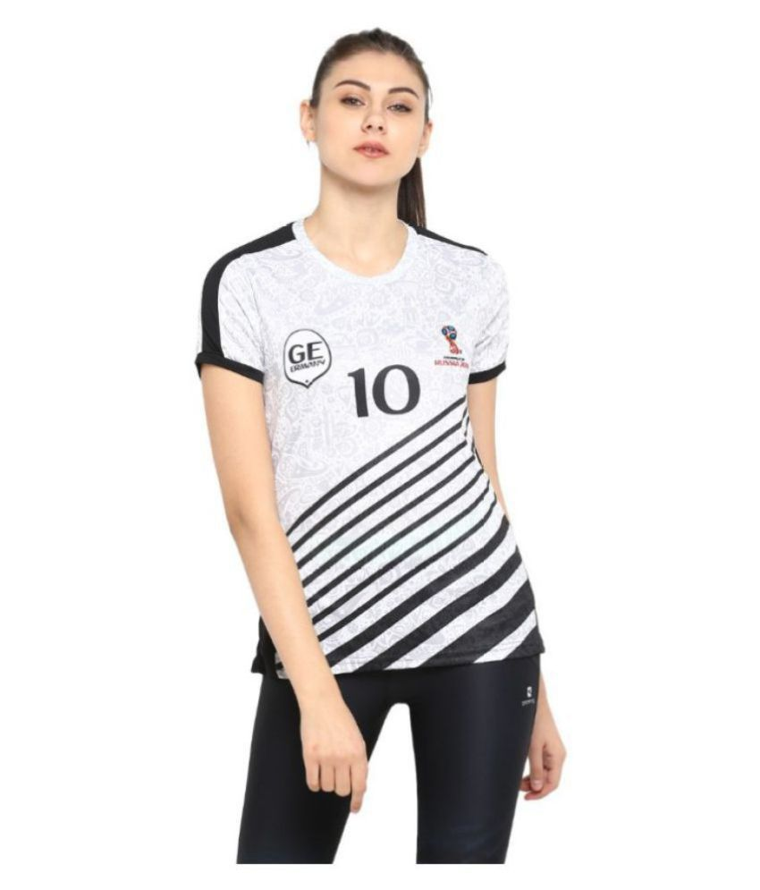 FIFA Polyester Jerseys - White
