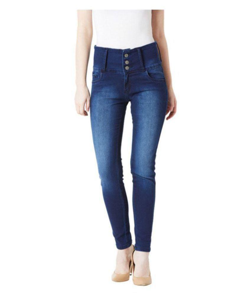 Miss Chase Denim Jeans - Navy
