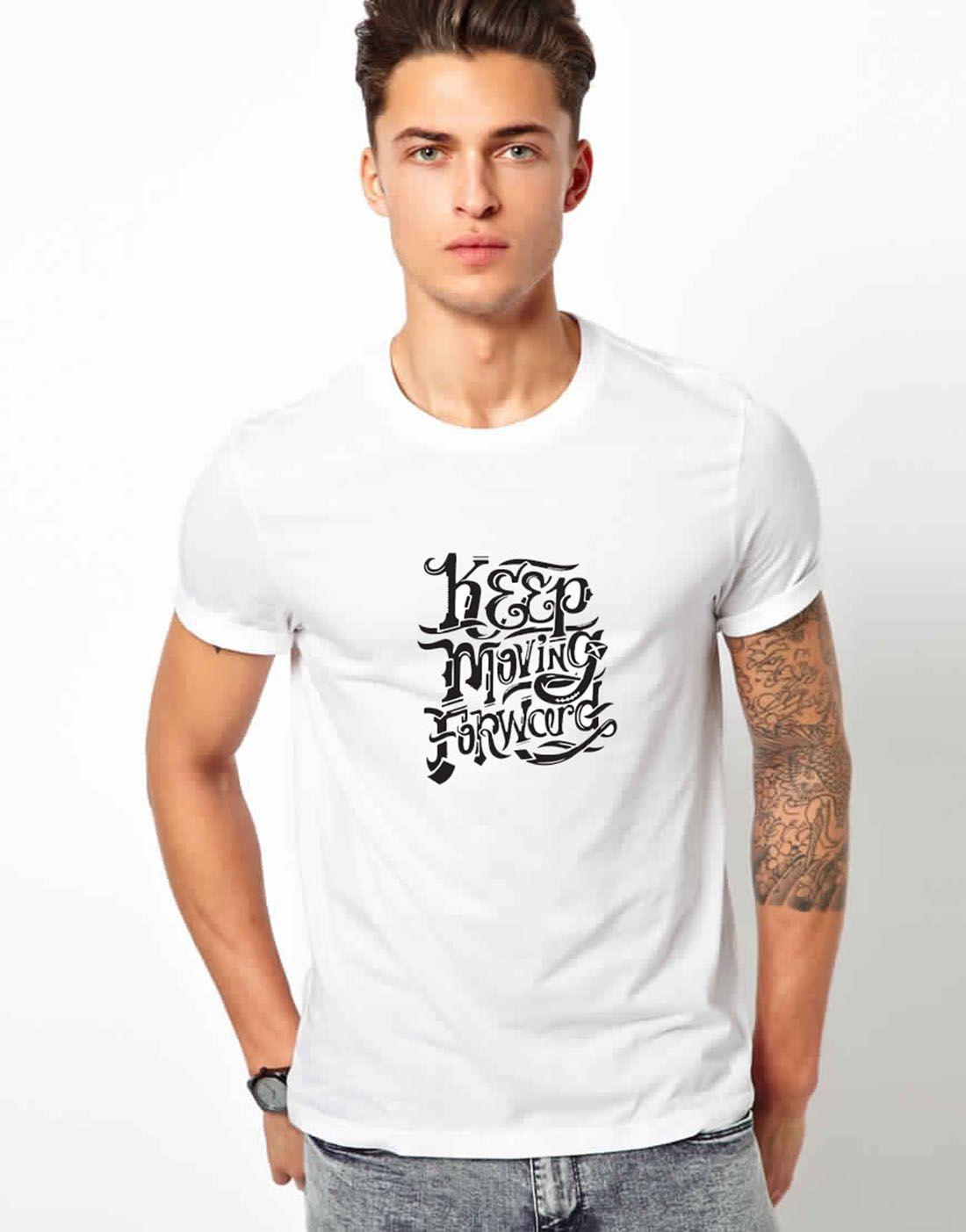 Wacky white Half Sleeve T-Shirt Pack of 1