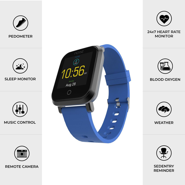 e7f66be2a Noise Colorfit Pro Smart Watches Blue Noise Colorfit Pro Smart Watches Blue  ...