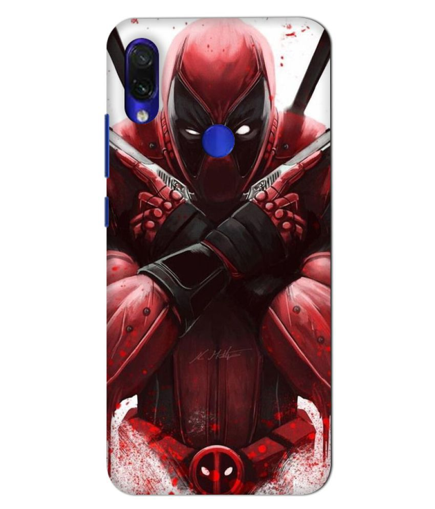 Xiaomi Redmi Note 7 Pro Printed Cover By GV GODESHWARAM