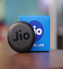 JioFi Hotspot JMR815 150 Mbps Jio 4G Portable WiFi Data Device (Black)