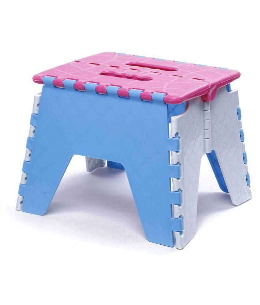 Tremendous Folding Plastic Stool Foldable Step Stool For Kids Adults Kitchen Garden Bathroom Stool Holds Up To 150 Kg Random Colour Buy Folding Plastic Stool Ibusinesslaw Wood Chair Design Ideas Ibusinesslaworg