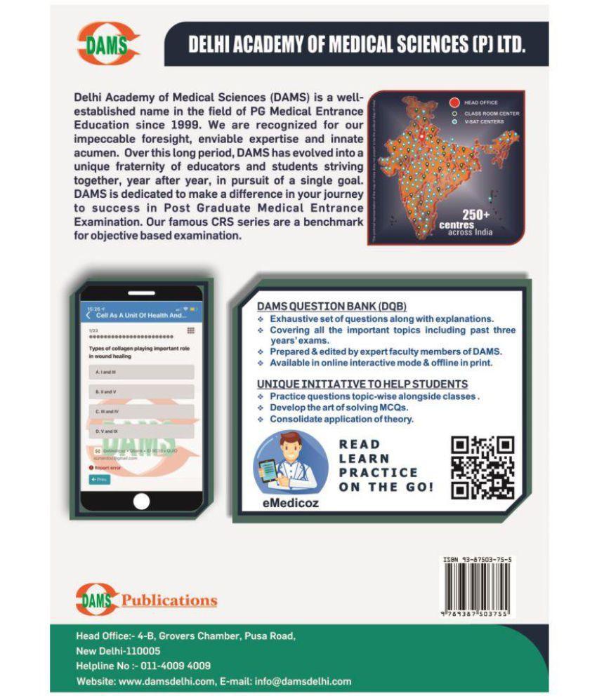 DAMS Question Bank-II 2019 (DQB-II Pathology, Pharmacology, Microbiology,  Forensic Medicine & Toxicology)