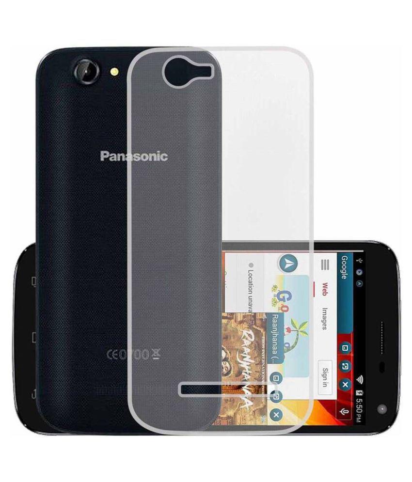 Itel Power Pro P41 Plain Cases Hopsack - Transparent
