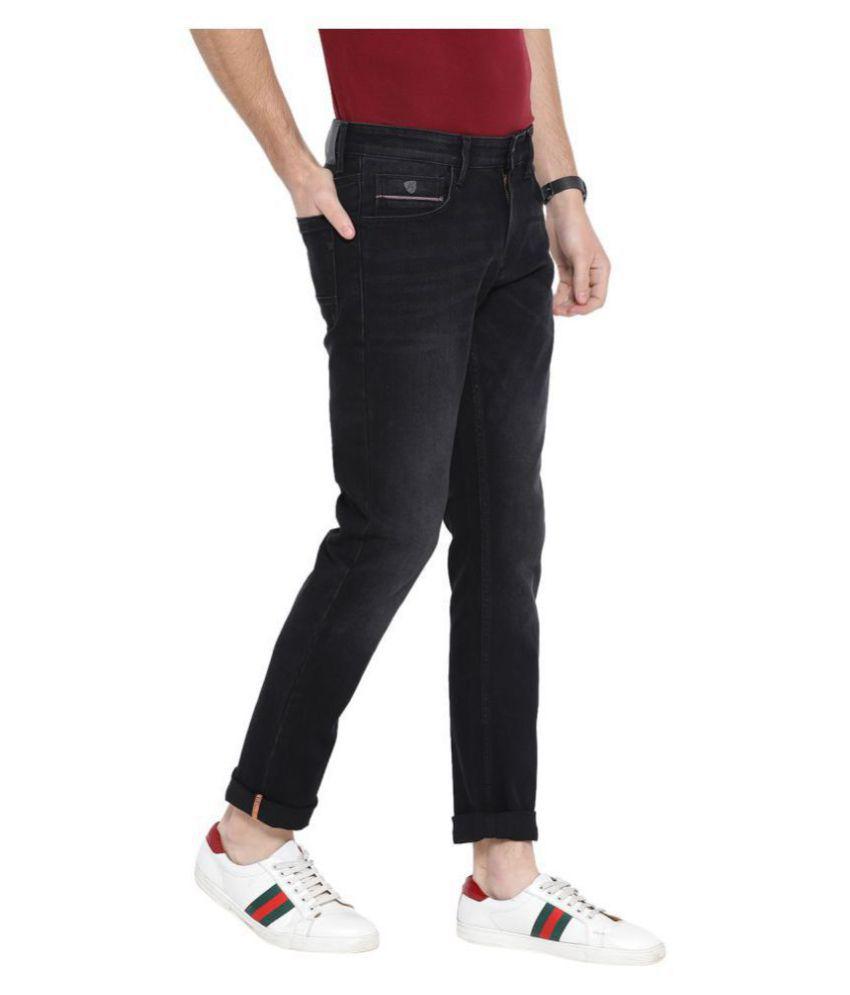 John Players Black Skinny Jeans