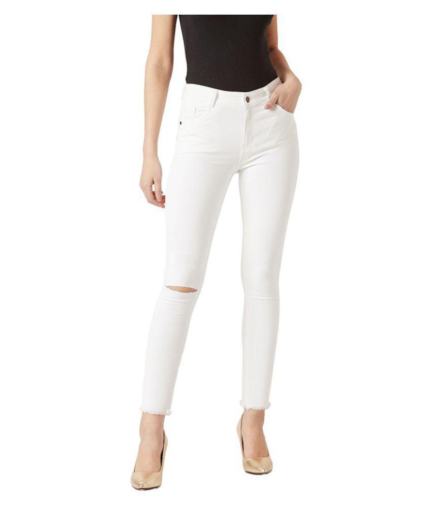 Miss Chase Denim Jeans - White