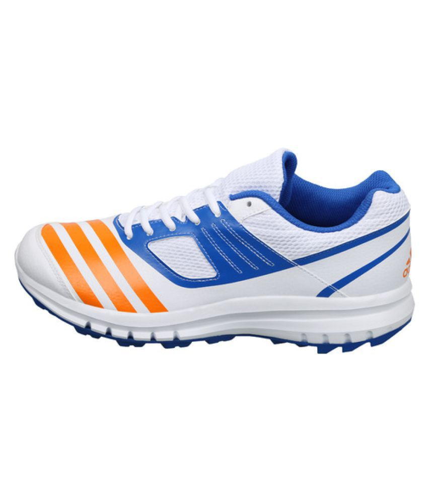 Adidas Howzat Cricket Shoes White Casual Shoes - Buy Adidas Howzat ...