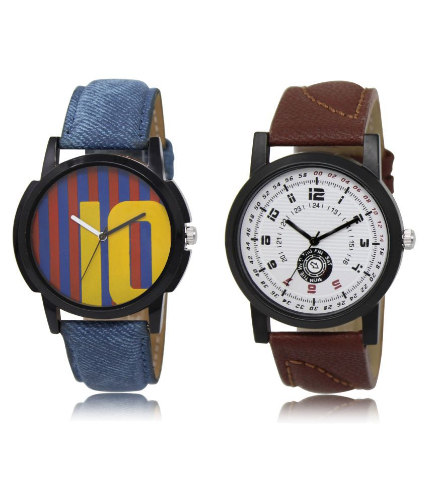 Lorem Analog ML-10-11 Combo Watch for Men & Women