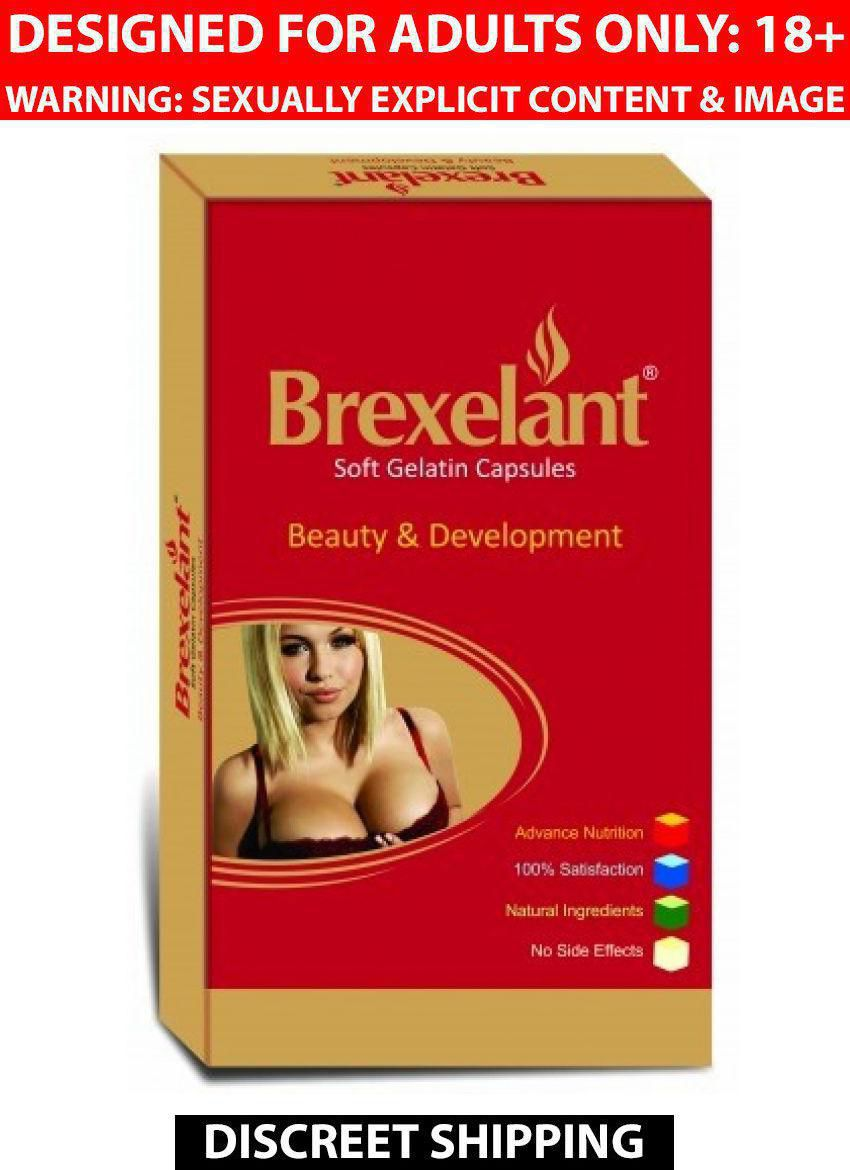 Ayurveda Cure Brexelant (Herbal Formula to Increase Breast Size) Capsules 30 no.s