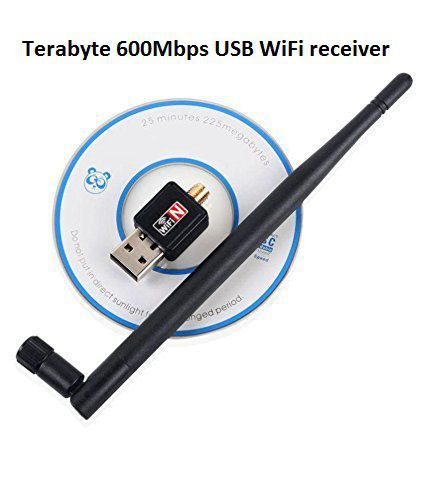 Terabyte 600Mbps Wireless Network USB Adapter with Antenna Wifi Receiver