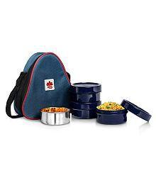 BMS Lifestyle Blue Polypropylene (PP) Lunch Box