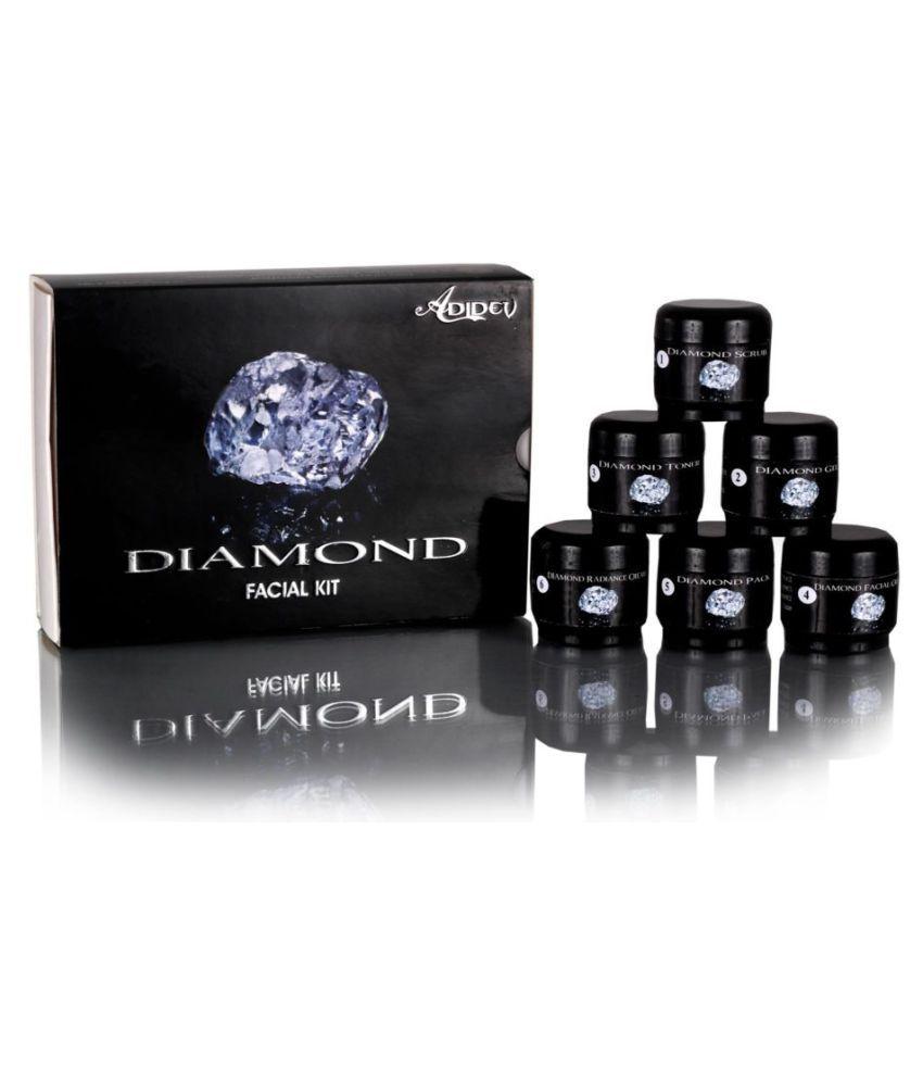Adidev Herbals  Flawless Daimond Facial Kit 250 gm