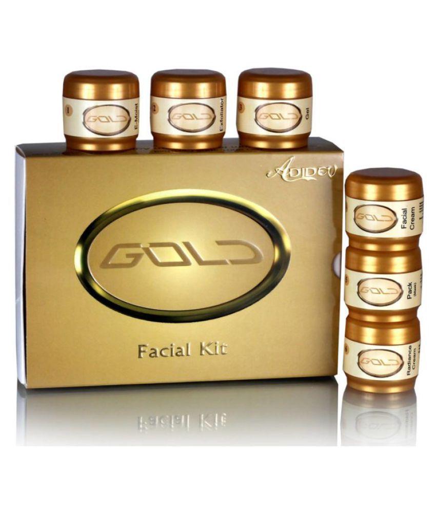 Adidev Herbals  Golden Glow Facial Kit 250 gm