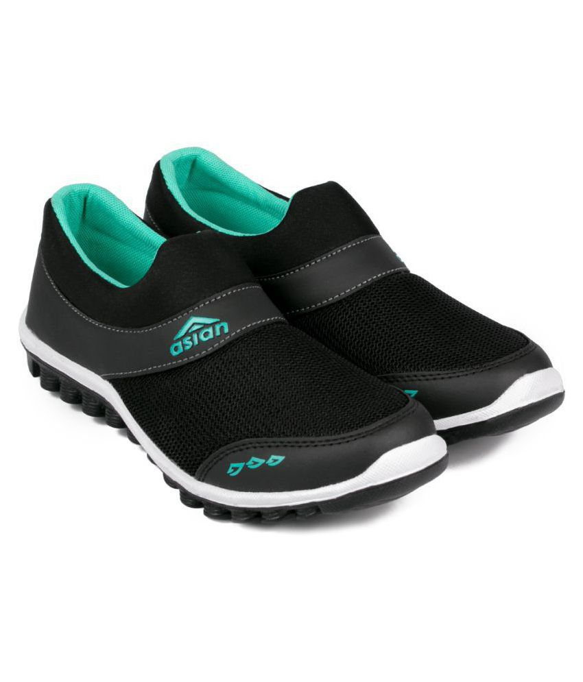 ASIAN Black Running Shoes