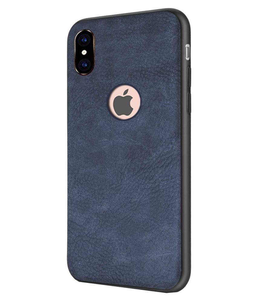 Apple iPhone XS Max Plain Cases iMob - Blue