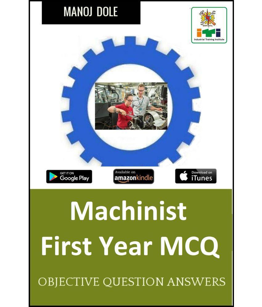 Machinist First Year MCQ