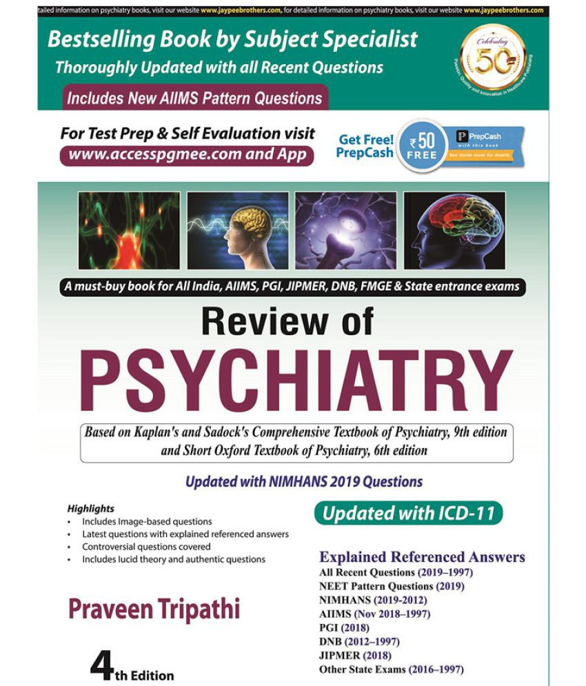 Review Of Psychiatry by Praveen Tripathi