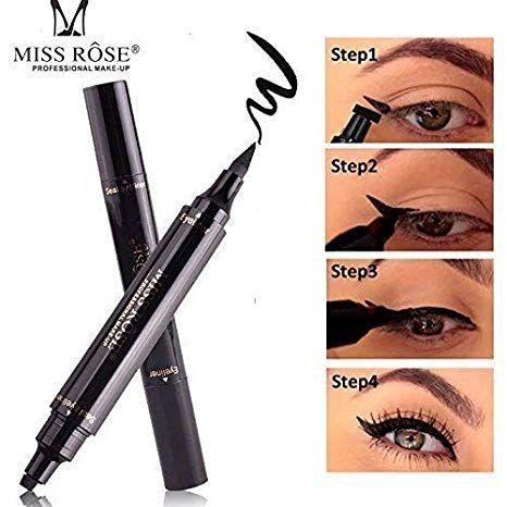 Miss Rose Pencil Eyeliner Black 0.018