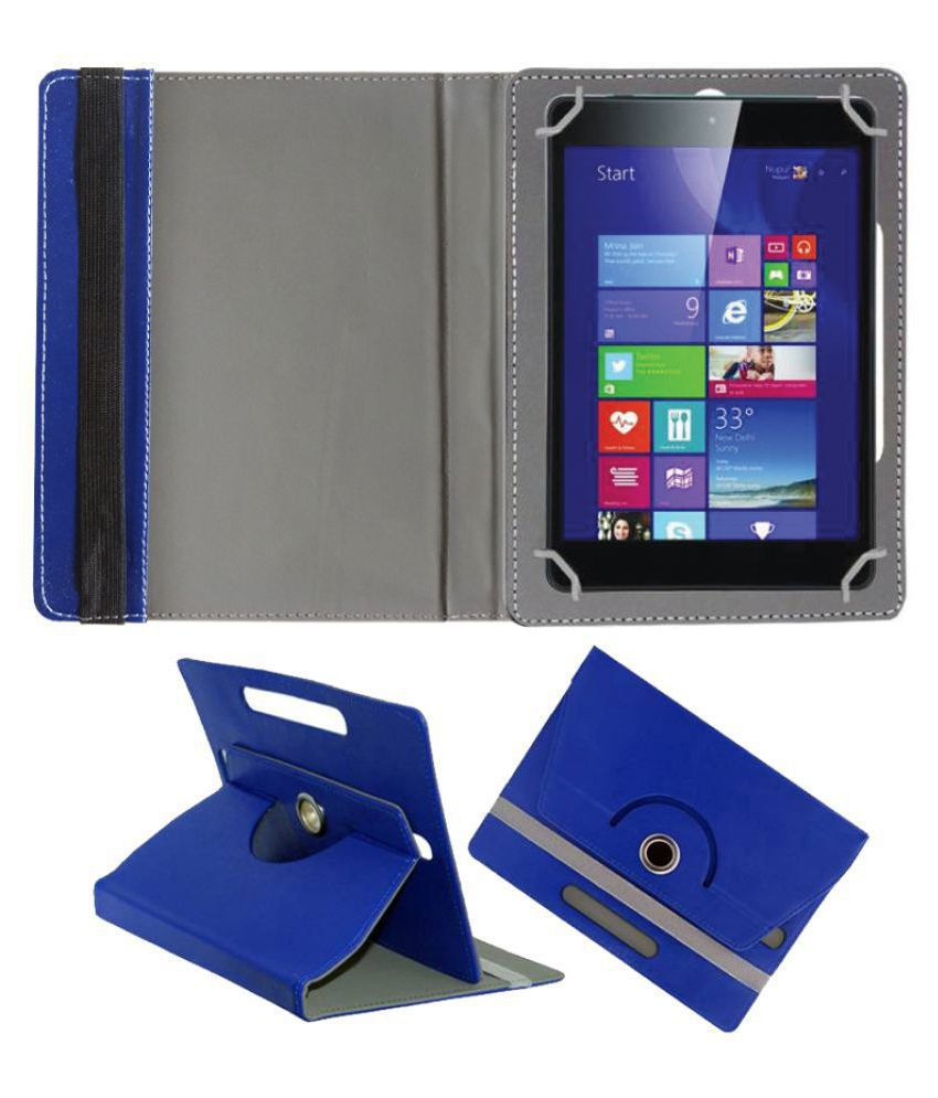 Iball Slide 3G 7803 Q900 Flip Cover By FASTWAY Blue