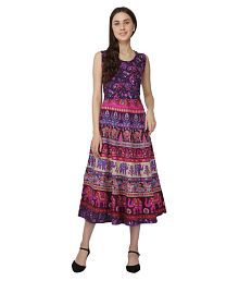 f6d8a517a6 Purple Dresses: Buy Purple Dresses Online at Best Prices in India ...