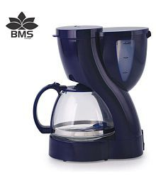 BMS Lifestyle 2-in-one Automatic 6 -Cups 500 watt Drip Coffee Maker
