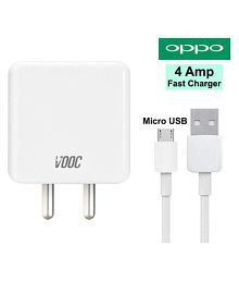 Oppo 4A Wall Charger With Micro USB Data Cable For Fast Charging Speed