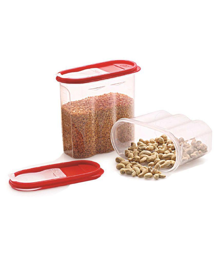 R Dabhi Cereal Jar 111 Polyproplene Food Container Set of 1 1250 mL