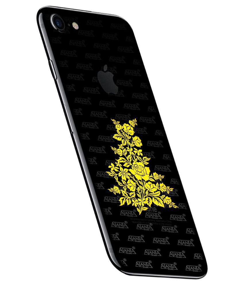 Ajanta Flower 4012 24K Gold Mobile Sticker (Free one sticker)