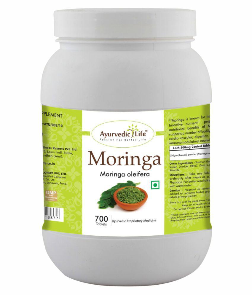 Ayurvedic Life Moringa 700  Tablets 500 mg