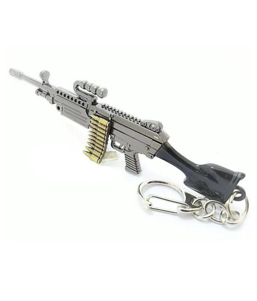 Boring M249 GUN PUBG KEYCHAIN: Buy Online at Low Price in ...