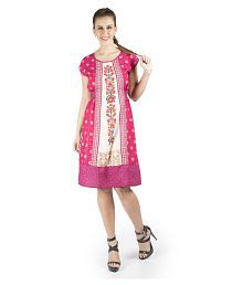 356a34752392 Pink Dresses: Buy Pink Dresses Online at Best Prices in India - Snapdeal