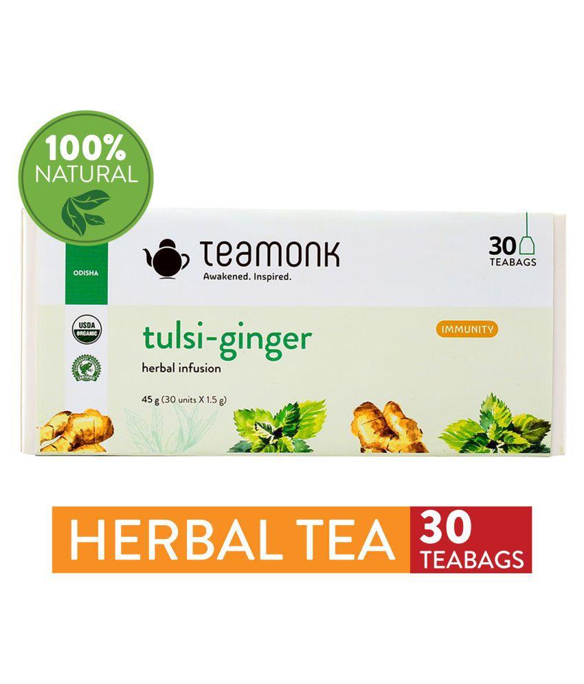 Teamonkglobal Tulsi Tea Bags 60 gm