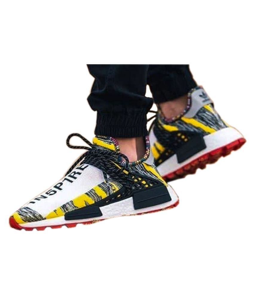 cheaper 874d2 fbb6f Adidas NMD Human Race Multi Color Running Shoes