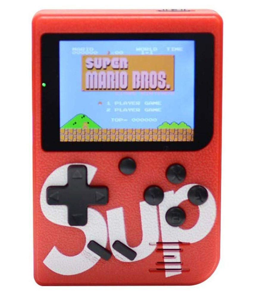 Ergode Android 8 GB Handheld Console ( 400 games Super Mario ,Contra,Tank Wars and more ) 3 Inch TFT Color Screen Retro Game