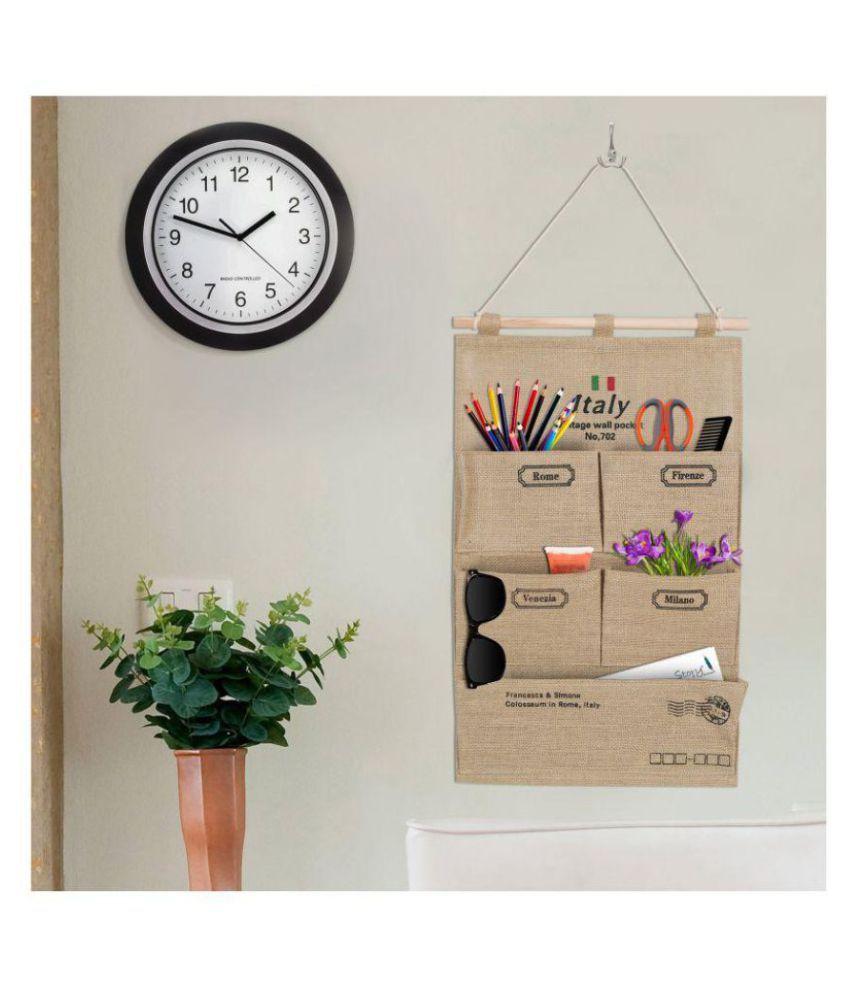 ab40b54ed5f2 Story@home Beautiful Cotton Fabric Wall Hanging Pocket