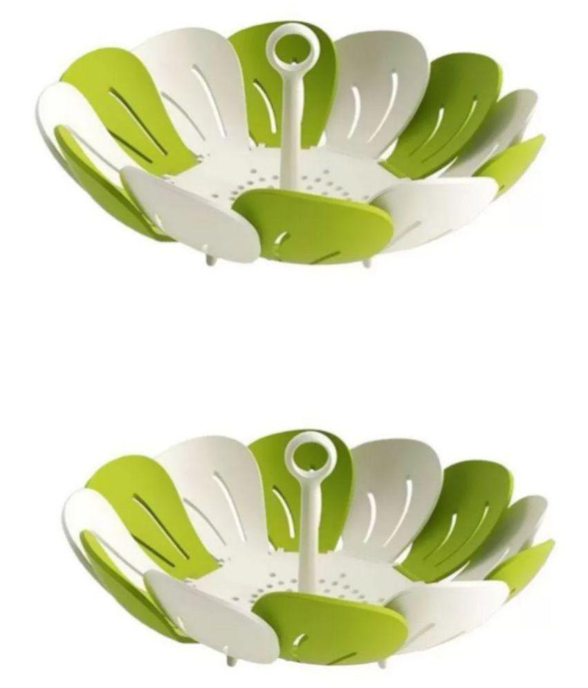 National Kitchenware Polypropelene Fruit Basket 2 Pcs