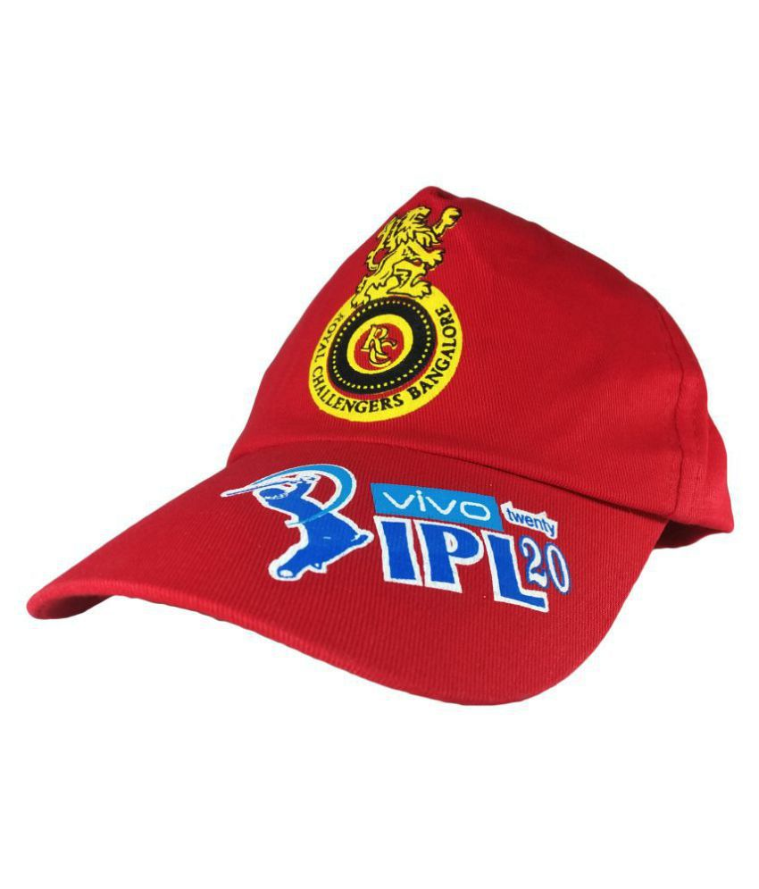 X-lent Royal Challengers Bangalore CAPS for IPL Free Size Red …