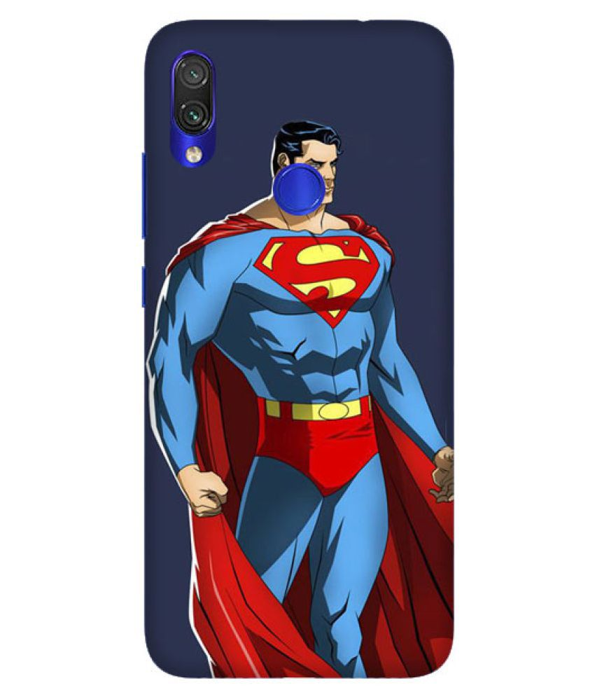 Xiaomi Redmi Note 5 Pro Printed Cover By Digi Swipes Superman Comic Mobile Back Cover and Cases Raised Lip for screen protection.