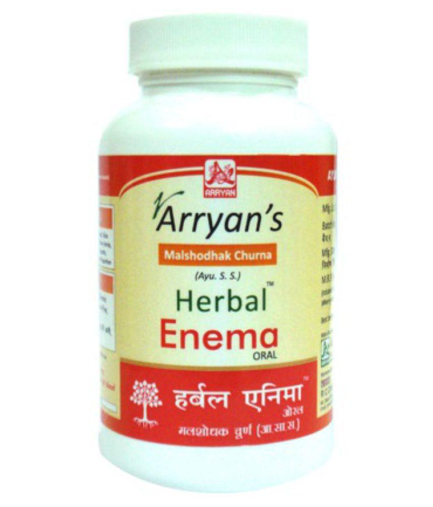 Arryan's Herbal Enema Oral Powder 100 gm Pack of 3