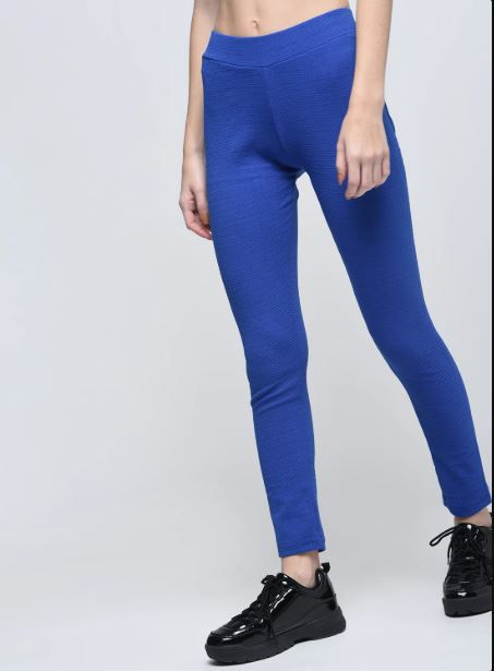 style express Poly Cotton Jeggings - Blue