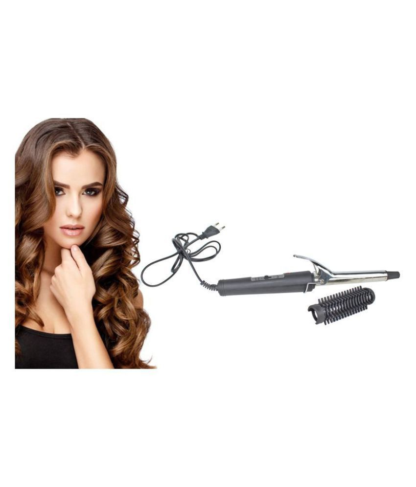 SPERO 471B Curler Hair Straightener ( Black )
