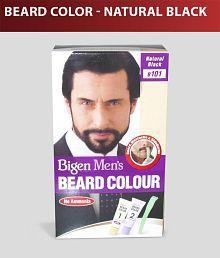 Bigen Men's Beard Color B-101 Natural Black