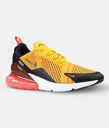 Nike TIGER Yellow Running Shoes