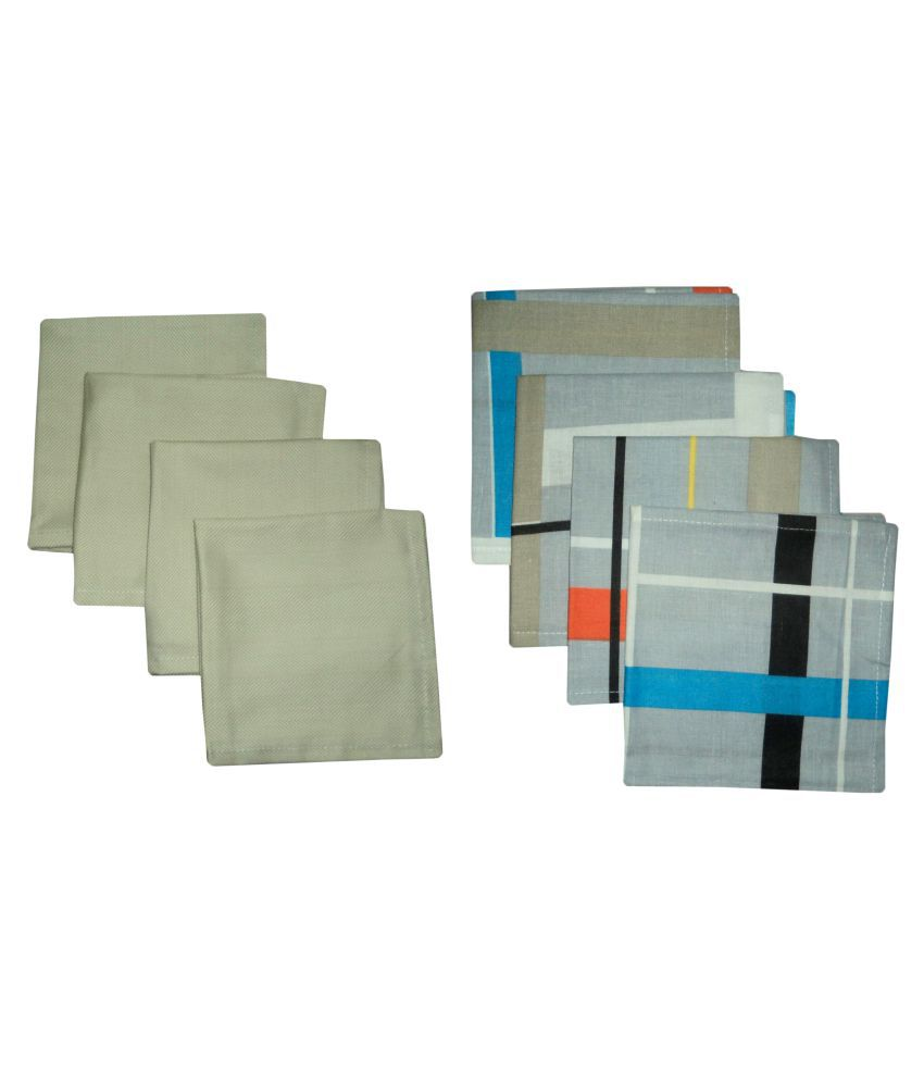 A&H Set of 8 Cotton Napkin