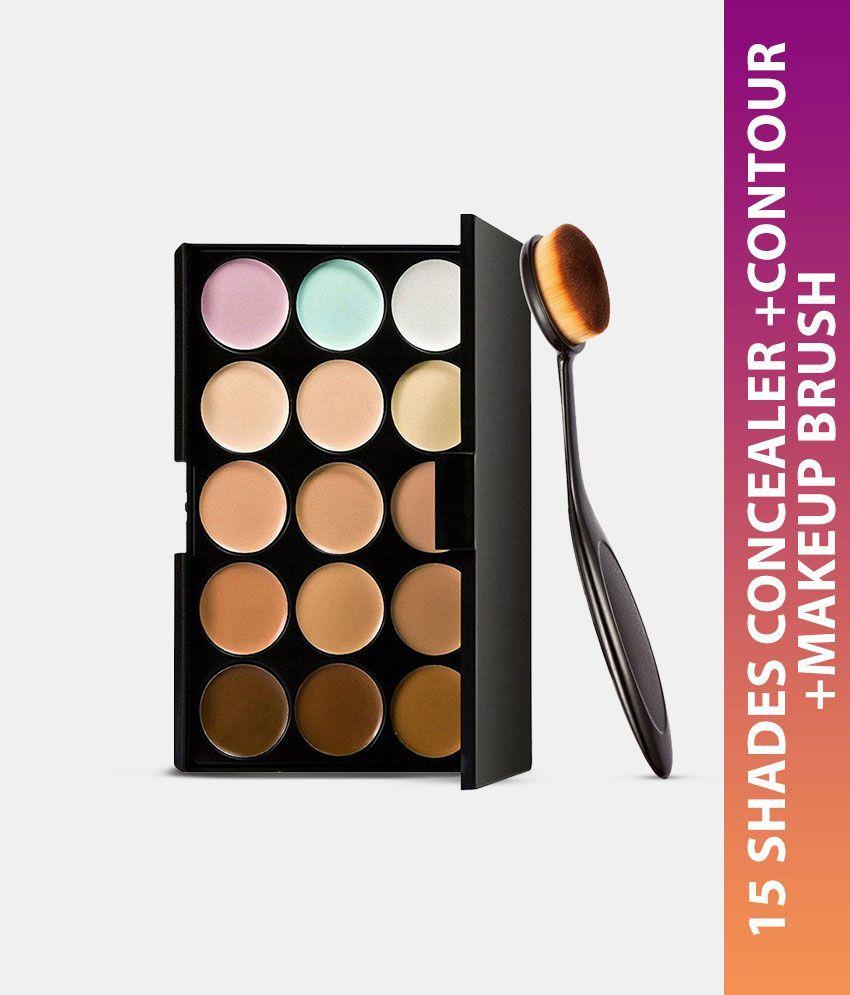 Generic 15 Colors Contour & Concealer Palette + Contour Makeup Brush: Buy Generic 15 Colors Contour & Concealer Palette + Contour Makeup Brush at Best ...