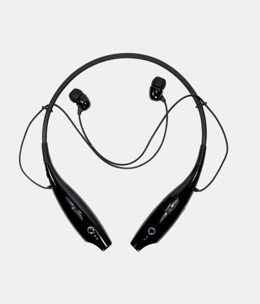 4beb95f03dd Neo HBS730 Wireless Bluetooth Headphone Earphone Black For MI, Redmi, Xiaomi  Samsung & More Neck band - Buy Neo HBS730 Wireless Bluetooth Headphone  Earphone ...